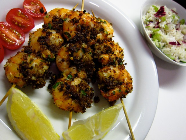 5.Blog_Prawn skewers with rice salad remind me of home…2