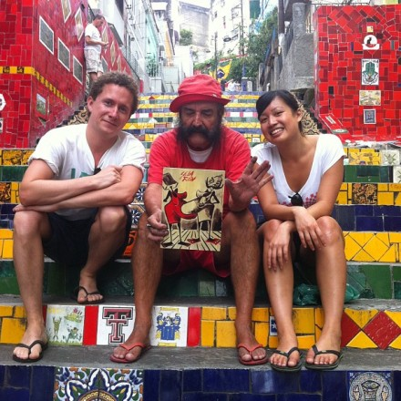 Rio Hotspot Find: Escadaria Selaron   meltingbutter.com