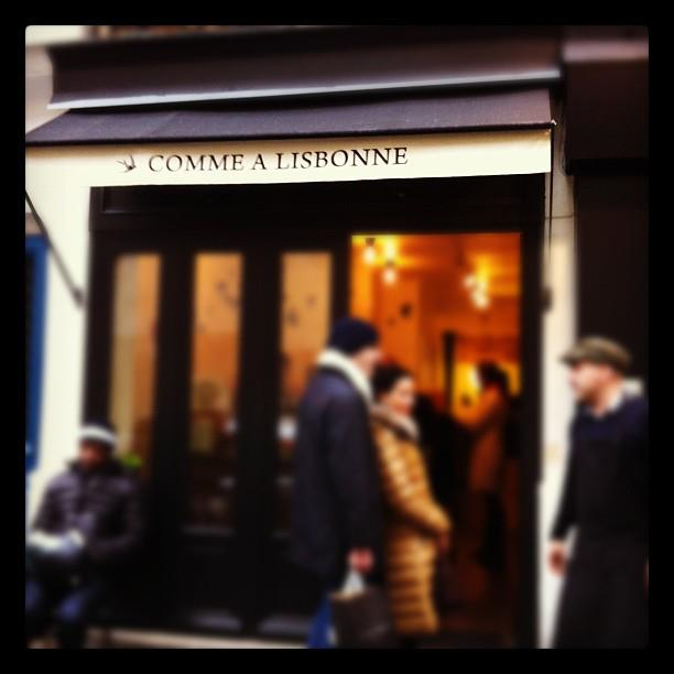 Paris Hotspot Find: Comme a Lisbonne | meltingbutter.com
