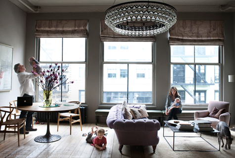 Ochre Apartment | The Curators- Marcus Hay talks styling and the top 7 interiors stores in NYC | meltingbutter.com