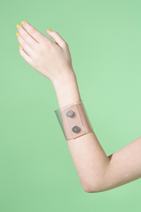 Vintage Chanel 90s PVC Cuff | The Curators-Belinda Humphris of Claire Inc. on Designer Vintage Fashion and the Best of Adelaide | meltingbutter.com