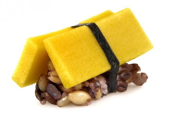 Mango Nigiri | NYC Hotspot Find: Beyond Sushi | meltingbutter.com