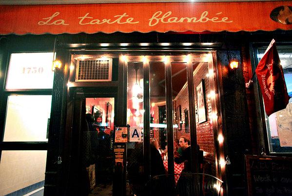NYC Hotspot Find: La Tarte Flambee | meltingbutter.com