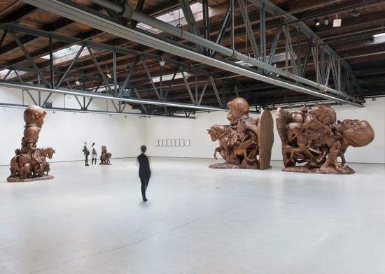 Paul McCarthy's Sculptures at Hauser & Wirth | NYC Top 5 Galleries City Guide | meltingbutter.com