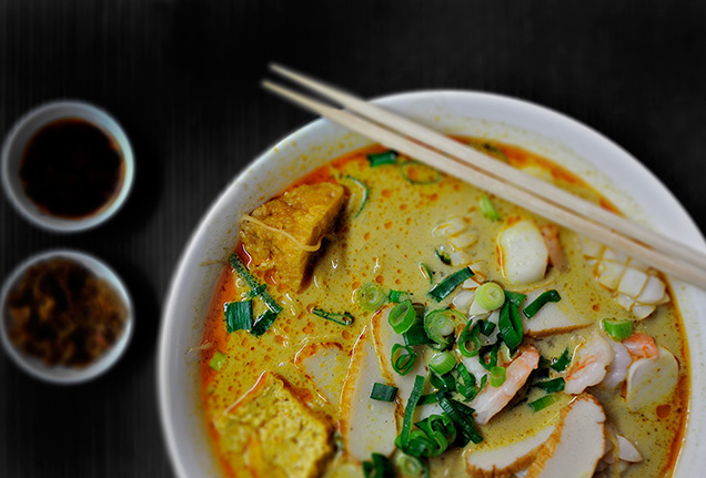 Laksa from Happy Chef | Ms G's Executive Chef Dan Hong on Sydney Food and his favourite off-duty eats | meltingbutter.com