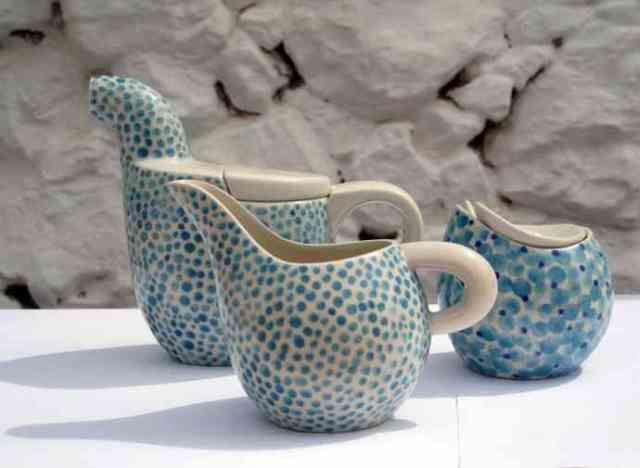Folegandros Hotspot Find: Pounta Hand Made Ceramics | meltingbutter.com
