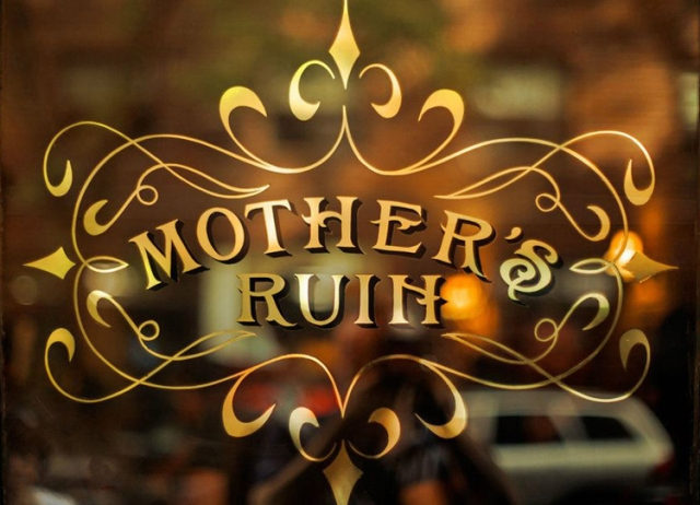 NYC Hotspot Find: Mother's Ruin | meltingbutter.com