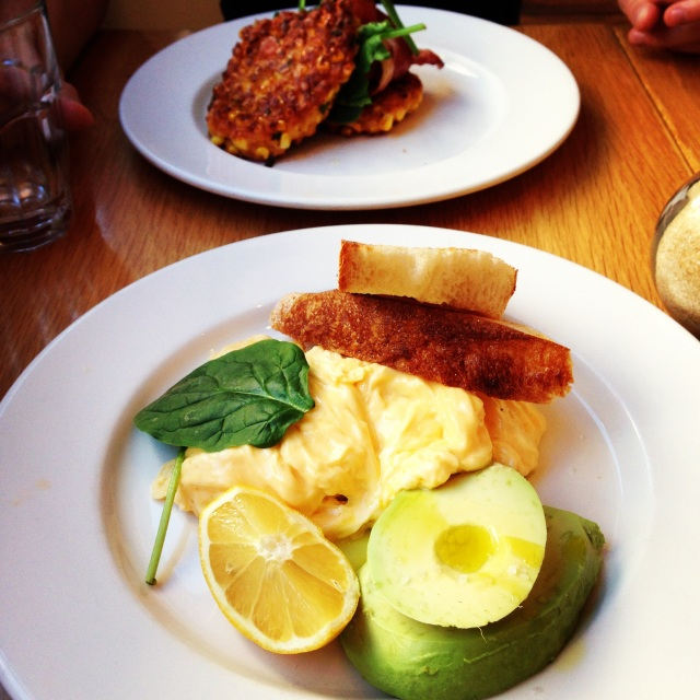 Bills Darlinghurst Scrambled Eggs | Sydney Restaurant Guide | meltingbutter.com