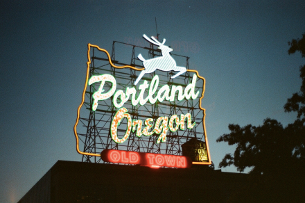 Portland Sign by Orlando Lane | Portland City Guide | meltingbutter.com