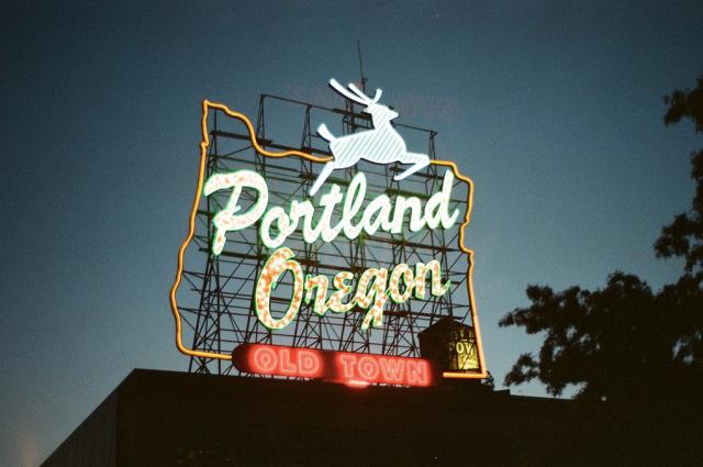 Portland Sign by Orlando Lane | Portland City Guide | meltingbutter.com