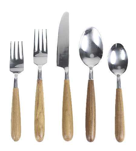 5 pc teak cutlery set | NYC Hotspot Find: Brook Farm General Store | meltingbutter.com