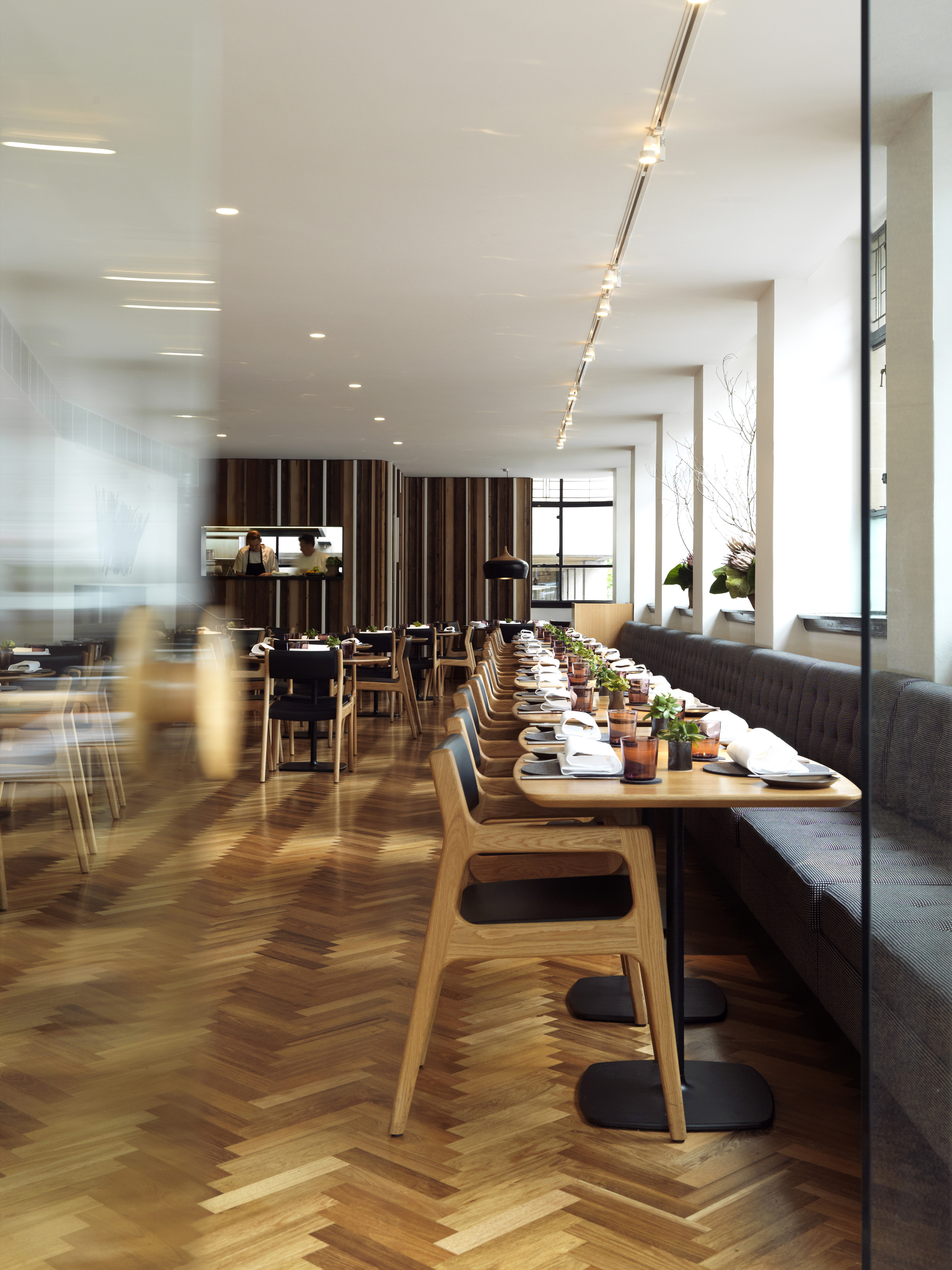 The curators laurent perrier chef brendan cato uncover for The dining room sydney