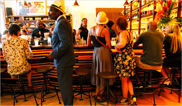Red Rooster Harlem | The Curators: Style Influencer Jamala Johns' Harlem Hotspots | meltingbutter.com