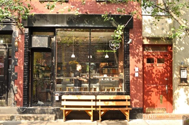 NYC Hotspot Find: Taïm Falafel & Smoothie Bar | meltingbutter.com