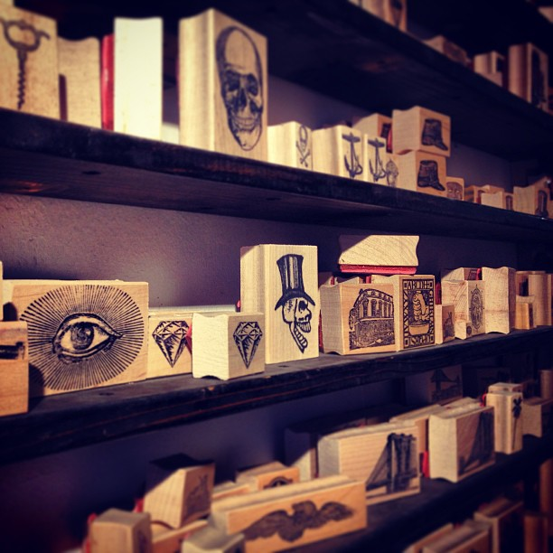 NYC Hotspot Find: Casey Rubber Stamps | meltingbutter.com